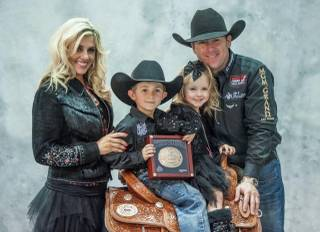 Awards night of the 2012 Wrangler National Finals Rodeo at the Thomas & Mack Center on Sunday, Dec. 16, 2012.