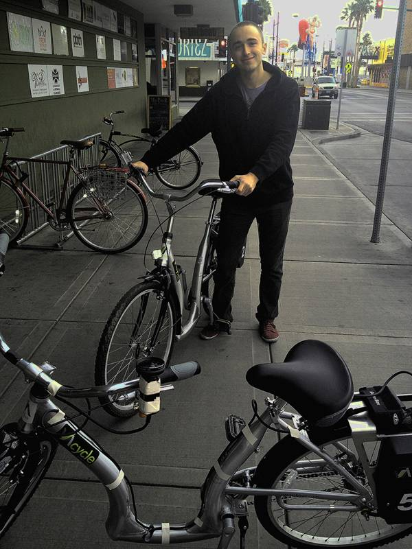 Jude Stanion is a Downtown Project employee responsible for the bike-share program.