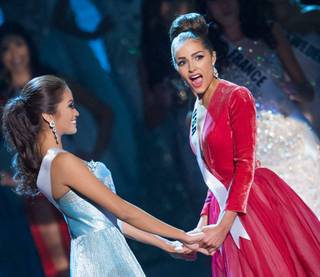 2012 Miss USA Olivia Culpo is crowned 2012 Miss Universe at Planet Hollywood on Wednesday, Dec. 19, 2012. 2012 Miss Philippines Janine Tugonon was the first runner-up.