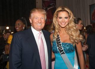 Donald Trump at the 2012 Miss Universe Pageant at Planet Hollywood on Wednesday, Dec. 19, 2012.