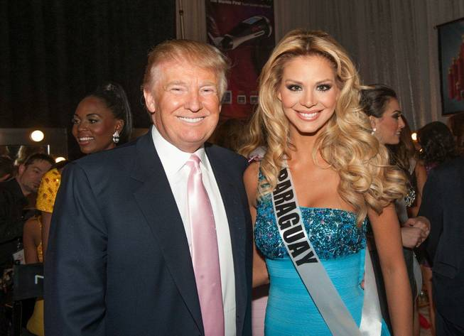 Donald Trump at the 2012 Miss Universe Pageant at Planet ...