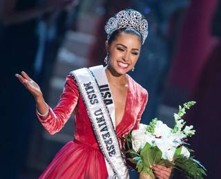 The 2012 Miss Universe Pageant at PH Live in Planet Hollywood on Wednesday, Dec. 19, 2012.