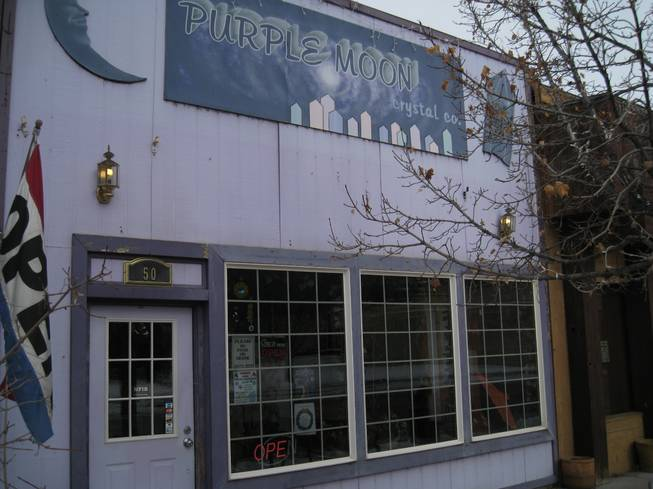 Purple Moon Crystal Company, home of assorted trinkets.