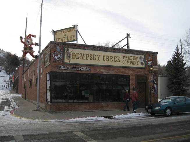 Dempsey Creek Trading Company. Find gold stuff here.