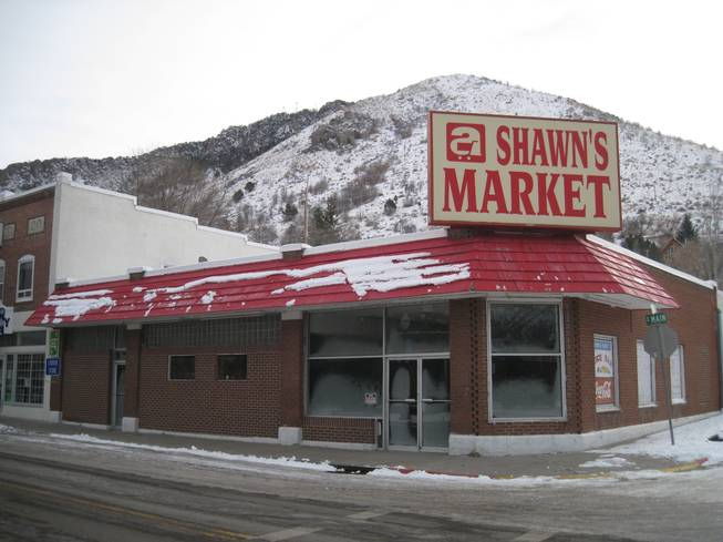 The first of two locations for Shawn's Market in Lava Hot Springs.