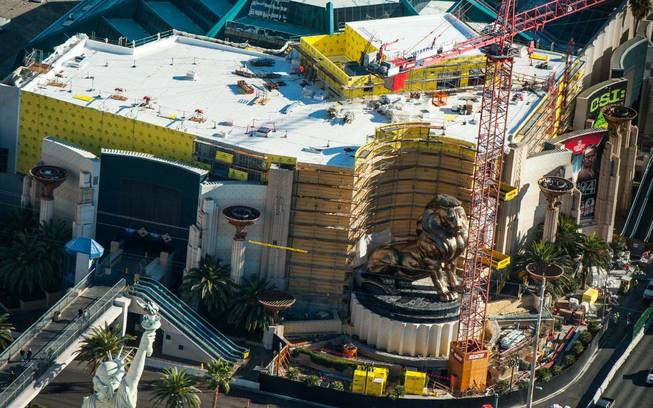Hakkasan is under construction at MGM Grand in Las Vegas.