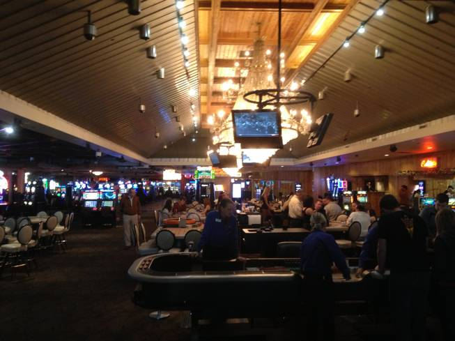 Hooters casino on Dec. 19, 2012, featured a more open floor plan than before as part of upgrades taking place at the Las Vegas resort.