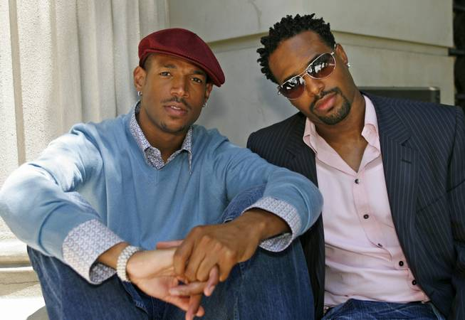 Brothers Marlon Wayans and Shawn Wayans at Sony Studios on Friday, July 7, 2006, in Culver City, Calif.
