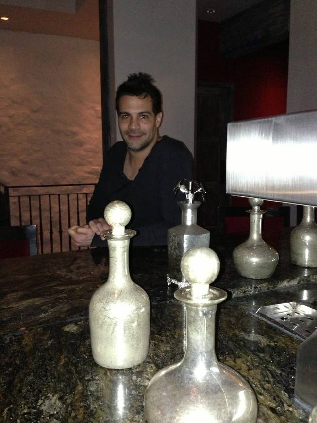 Angelo Sosa at his new restaurant Poppy Den in Tivoli Village.