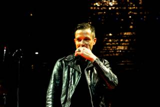 The Killers perform in The Chelsea at The Cosmopolitan of Las Vegas on Friday, Dec. 28, 2012.
