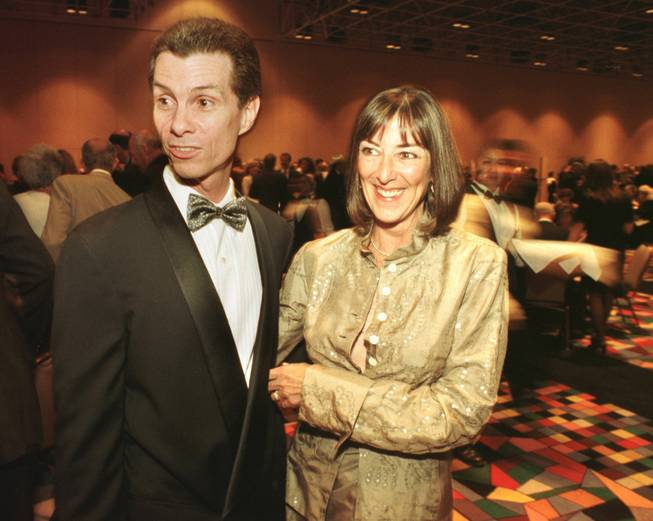 Jay and Maureen Barrett at the National Italian American Foundation West Coast Gala Dinner Saturday, May 1, 1999.