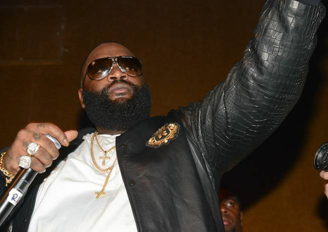 Rick Ross hosts and performs at Vanity on Sunday, Dec. ...