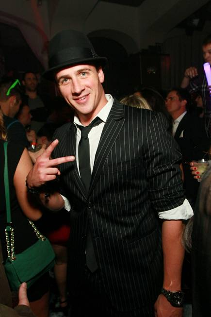 Ryan Lochte at Hyde Bellagio on Sunday, Dec. 30, 2012.