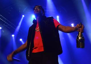 Juicy J at the Joint in the Hard Rock Hotel on Tuesday, Dec. 31, 2013, in Las Vegas.