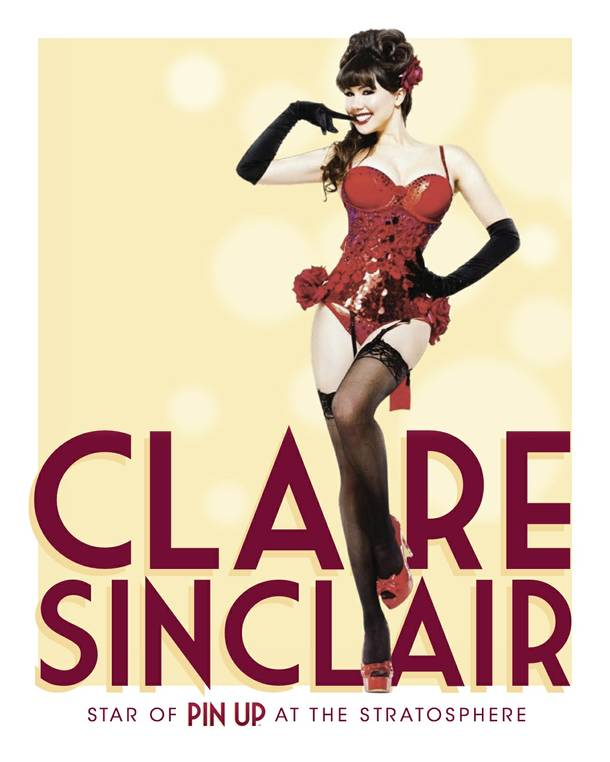 Claire Sinclair stars in