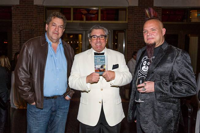 Authors Max Jacobson, John Curtas and Al Mancini at the ...
