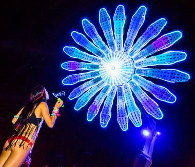 It's hard to believe, with hundreds of the world's most famous DJ's here for the Electric Daisy Carnival, that anything else could possibly be going on -- however, this is Vegas and there are plenty of other choices.