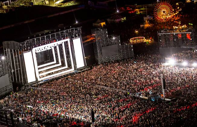 Contributing photographer Erik Kabik's best, favorite and most memorable photographs of 2012. The 2012 Electric Daisy Carnival at Las Vegas Motor Speedway is pictured here.