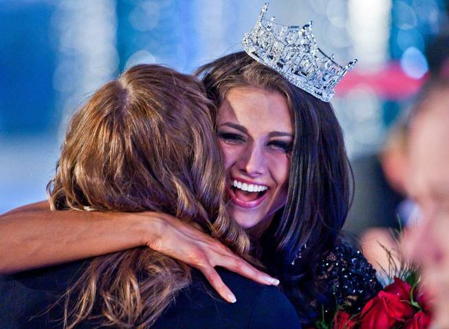 Contributing photographer Tom Donoghue's best, favorite and most memorable photographs of 2012. 2012 Miss America Laura Kaeppeler is pictured here at Planet Hollywood.