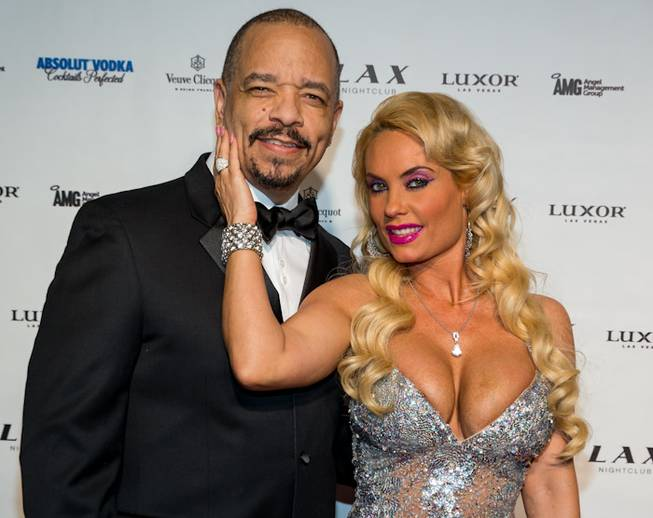 Ice-T and Coco host the New Year's Eve celebration at ...