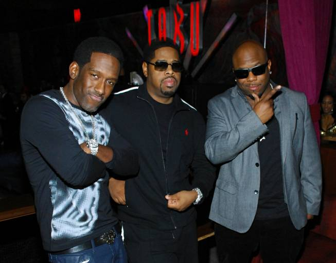 Boyz II Men celebrate New Year's Eve at Tabu in MGM Grand on Monday, Dec. 31, 2012.