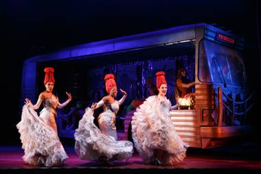 "The musical ""Priscilla, Queen of the Desert."""