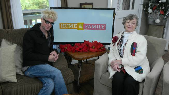 "Tropicana headliner magician Murray Sawchuck on The Hallmark Channel's ""Home & Family."""