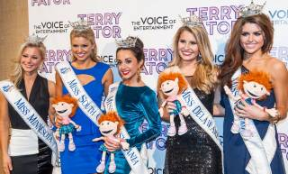 The 2013 Miss America Pageant contestants attend Terry Fator's headliner show at The Mirage on Friday, Jan. 4, 2013.