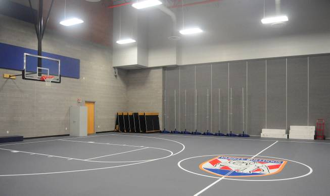 The gym is shown here on Variety School's new campus, at 2800 East Stewart Ave., on Monday, Jan. 7, 2013. The replacement school features kitchen facilities, a mock apartment and laundry facilities to teach life and vocational skills to special-needs students.
