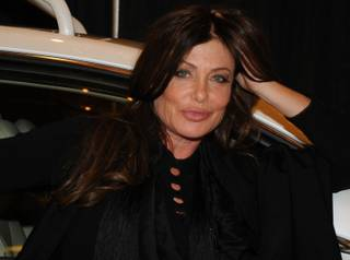 Actress Kelly LeBrock at the Velodyne Acoustics booth at CES on Tuesday, Jan. 8, 2013.