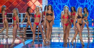 The first-night preliminaries of the 2013 Miss America Pageant at PH Live in Planet Hollywood on Tuesday, Jan. 8, 2013.