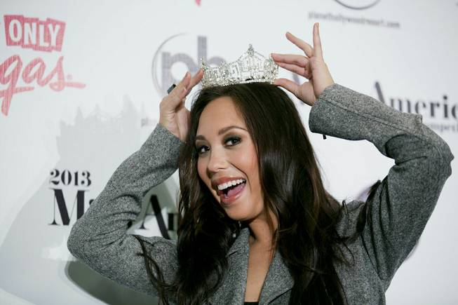 2013 Miss America Pageant judge Cheryl Burke.