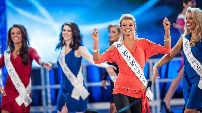 The second night of preliminaries in the 2013 Miss America ...