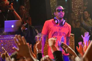 The Soul Electronics CES party with Ludacris at Tao in The Venetian on Thursday, Jan. 10, 2013.