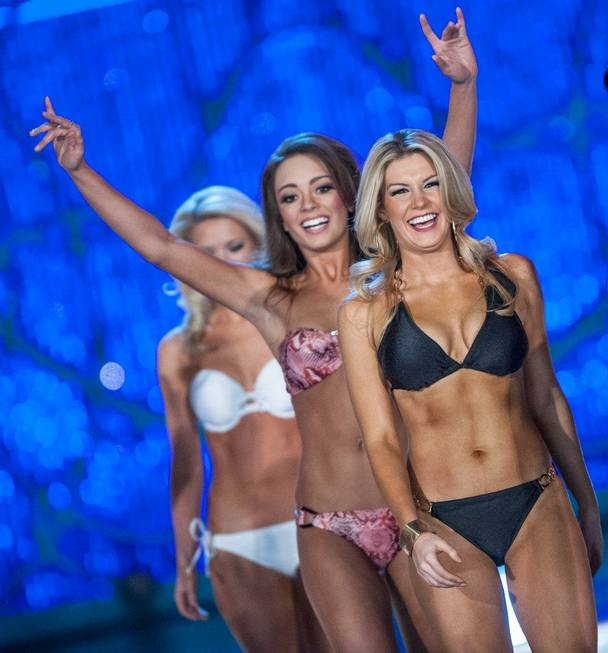 Miss New York Mallory Hytes Hagan, 23, the winner of ...
