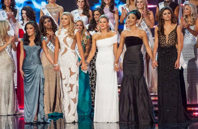 The 2013 Miss America Pageant at PH Live in Planet ...