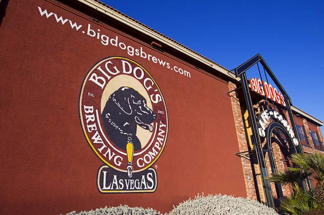 Big Dog's Cafe and Casino at 6390 W. Sahara Ave. Tuesday, January 15, 2013.