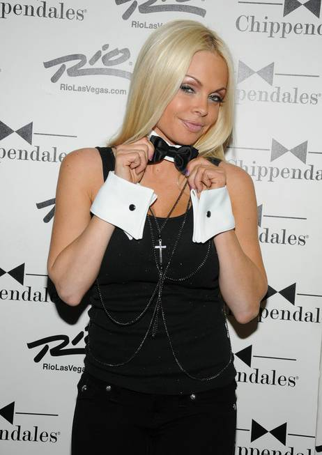 Porn star Jesse Jane at Chippendales in The Rio on ...