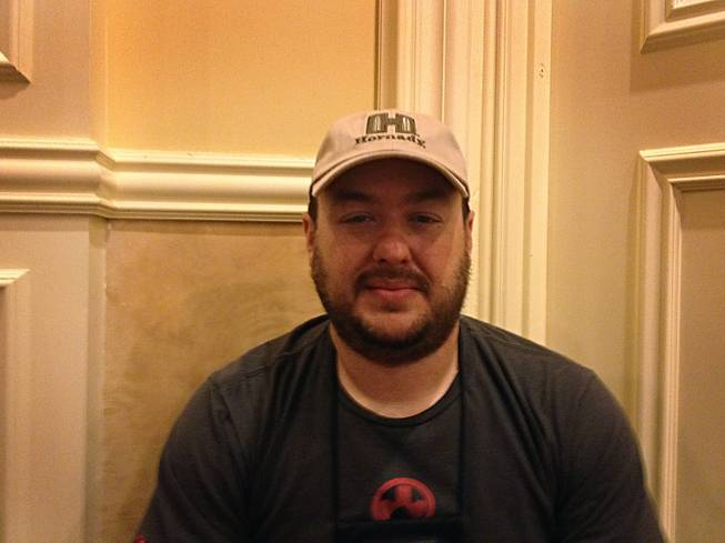Omar Munoz, 36, is a gun manufacturer and dealer from Miami, Fla. Munoz has attended the last three SHOT Shows.
