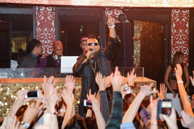 Sean Paul hosts and performs at Tao in The Venetian ...