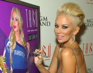 Jenna Jameson hosts at Tabu in MGM Grand on Saturday, Jan. 19, 2013.