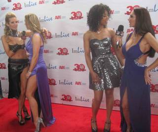 The 2013 AVN Awards red carpet at The Joint in the Hard Rock Hotel on Saturday, Jan. 19, 2013.