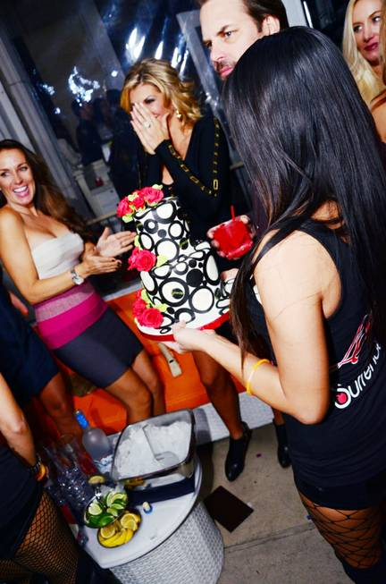 Alexis Bellino celebrates her 36th birthday at Andrea's in the ...