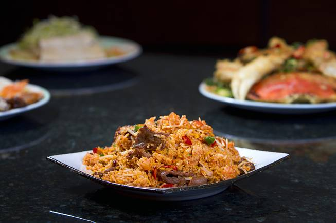 Night Market Fried Rice at Ping Pang Pong restaurant in the Gold Coast Tuesday, Jan. 22, 2013. STEVE MARCUS