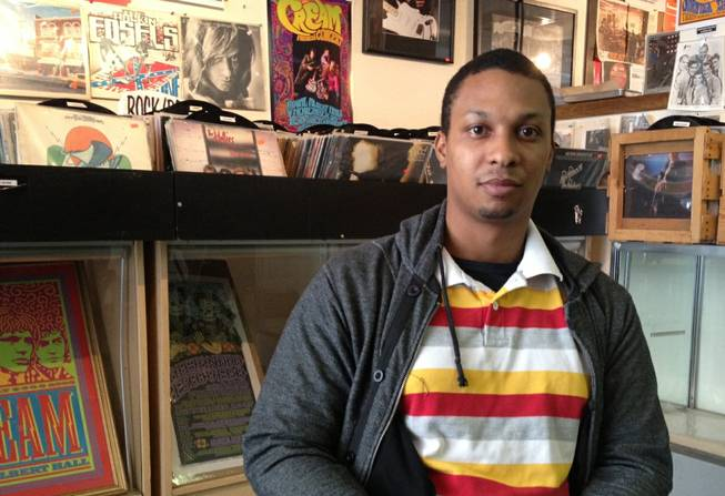 Justin Graham wants to build his record label, Attain Records, in downtown.