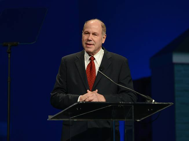 Michael Eisner at the Las Vegas Convention Center on Tuesday, Jan. 22, 2013.