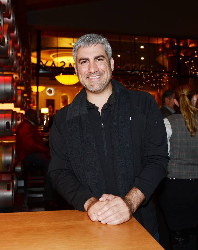 Taylor Hicks at Gordon Ramsay Pub & Grill in Caesars Palace.