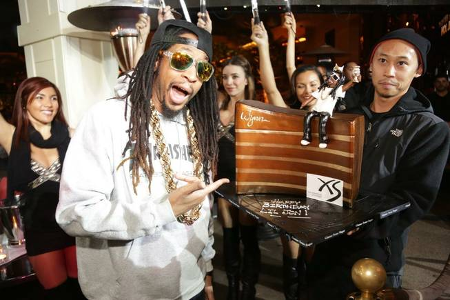Lil Jon celebrates his birthday at XS on Monday, Jan. 21, 2013.