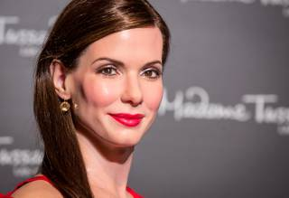Sandra Bullock's wax figure is unveiled at Madame Tussauds Las Vegas in The Venetian on Thursday, Jan. 24, 2013.