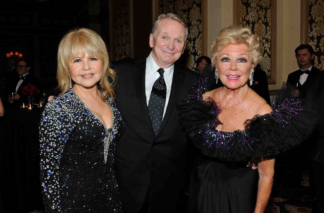 Actress and singer Pia Zadora, fashion designer Bob Mackie and ...